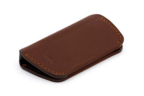Bellroy・ベルロイ Leather Key Cover Second Edition キーケース 本革 (鍵4つまで収納可) - Cocoa
