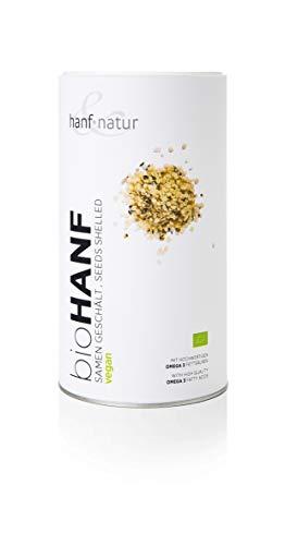 Hanf & Natur - Hanfsamen Geschält - Bio - 1 kg