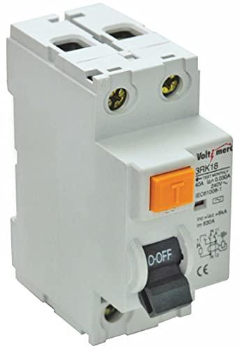 Voltimerc Interruptor Diferencial 2P 40 A 300 mA