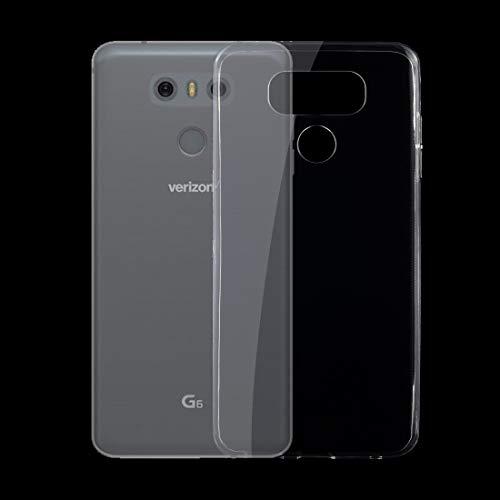 Fundas LG For LG G6 0.75mm Estuche Protector Ultrafino TPU Transparente Fundas LG (Color : Transparent)