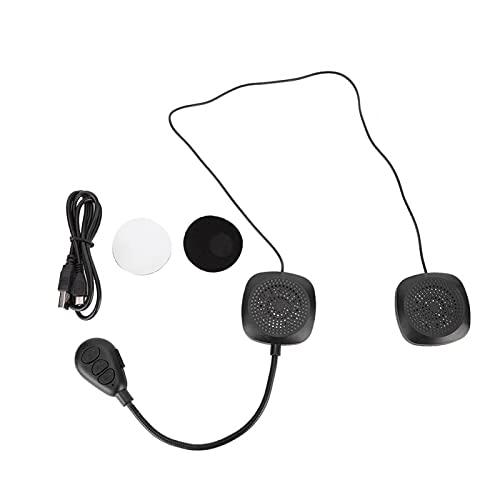 Shipenophy Accesorio de Motocicleta para Auriculares con Bluetooth Personalizado para una conducción Segura para Andar en Bicicleta al Aire Libre para Viajes de Larga Distancia