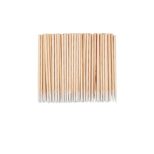 WWYICHEN 600 Pieces Fine Cotton Swab Eyebrow Tattoo Beauty Makeup Color Nail Seam Dedicated Dirty Picking Pack, 2 Sizes