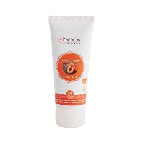 BENECOS Happy Hands Crème pour les mains Abricot et fleur de sureau bio