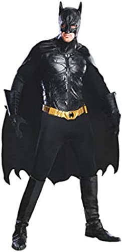 Horror-Shop The Dark Knight DLX Batman Kostüm M