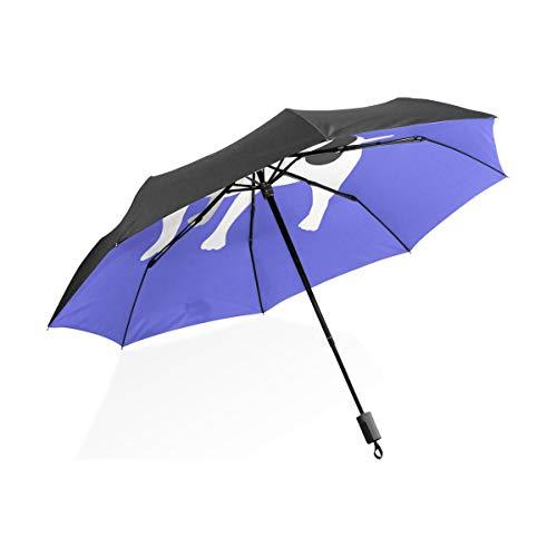 FANTAZIO Travel Paraplu Franse Bulldog Zon/Regen paraplu