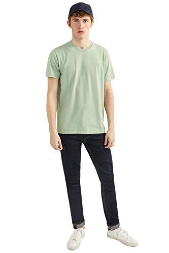 Springfield 5Ba Básica Logo Tree-c/23 Camiseta, Verde (Green 23), S (Tamaño del Fabricante: S) para Hombre