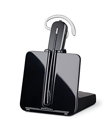 Plantronics CS540/A - Auriculares con micrófono para teléfonos digitales (Inalámbrico, DECT, 6.8 GHz, 118 Db, 85 Db, 7 h)