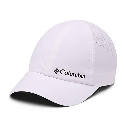 Columbia Gorra de béisbol unisex, Silver Ridge III Ball Cap, Nailon, Blanco (White), Talla: O/S, 1840071