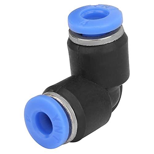 Colocación neumática del empuje del aire del codo igual durable, resistencia neumática de la presión de la vida de servicio de Maccan 0-60℃ con el plástico