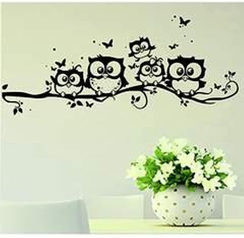 Clearance Willtoo Kids Vinyl Art Cartoon Owl Butterfly Wall Sticker Decor Home Decal