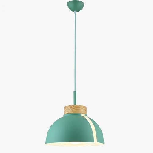 Luz colgante moderna Metal colgante Luz de techo Macarrón Hierro Sistema de araña Personalidad de la araña Lámpara de araña Cocina Cocina montada en el techo Iluminación de la sala de estar de la sala