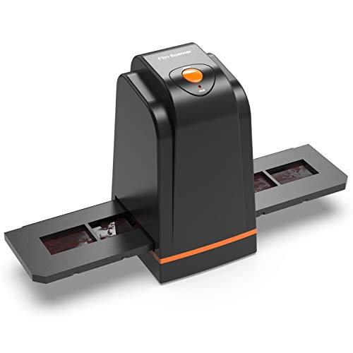Escáner Negativo/Positivo de película con 3600DPI de Alta resolución, USB 35mm 135 Slide to Digital Conveter, Compatible con Windows XP/Vista / 7/8/10 / Mac