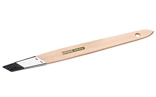 Colorus High Premium Schrägstrichzieher 25 mm | Strichzieher Solid schwarze Chinaborste | Ausbesserungspinsel für Wandfarben, Beschneidearbeiten, lösemittelhaltige Anstrichmedien