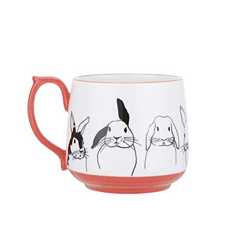Taza De Cerámica De Dibujos Animados De Animales Breve Taza De Café Clásica Desayuno Leche Taza De Leche Taza De Té Regalo Para Mujeres Hombres Niños Niñas