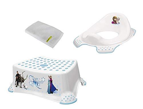 Disney Reine des Neiges Ensemble de Deux + Tabouret Toilette Formateur