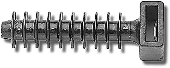 100 stuks piepschuim pluggen pluggen spiraal pluggen isolatiepluggen voor kabelbinders 8 mm