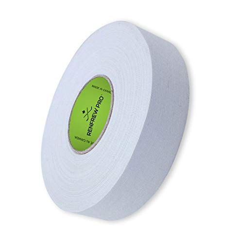 Renfrew Schlägertape Pro Balde Cloth Hockey Tape 24mm f. Eishockey 25m (weiß)