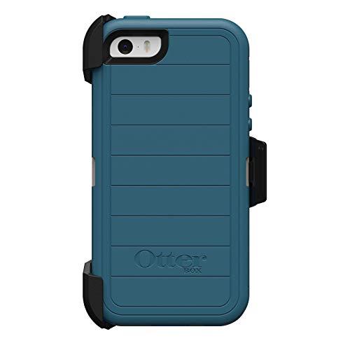 OtterBox Defender Series Case & Holster for iPhone 5 / 5S / SE - Big SUR (Pale Beige/Corsair)