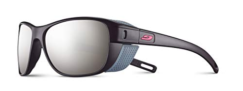 Julbo Unisex Camino Sonnenbrille, Schwarz/Schwarz, Einheitsgröße Einheitsgröße Pflaume / Rosa