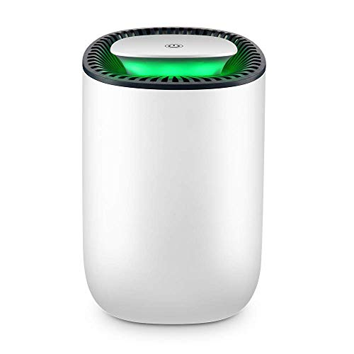 Check Out This JIAX Electric Mini Dehumidifier,600Ml Portable Dehumidifier Ultra-Quiet Automatic Power-Off Air Dryer for Home, Kitchen, Garage, Wardrobe, Basement