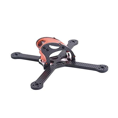 Ellenbogenorthese-LQ Ricambi RC Falcon Cp130Pro 130Mm Mini FPV Kit Telaio da Corsa 3Mm Piastra Inferiore in Fibra di Carbonio per Drone Rc - Rosso ( Size : Orange )