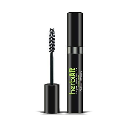 Herbiar Natural Waterproof Mascara For Makeup Voluminous Smudge Proof Eyelash Enhancer Thick Long...