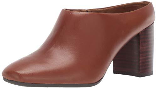 Aerosoles Women's CAST Stone Sneaker, Dark tan Leather, 7 M US