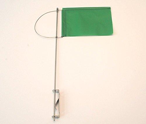 New Marine Klikker met zijhouder en doek, groen, 100 mm