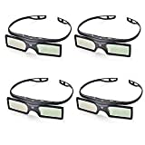 PERGEAR G15-DLP 144Hz 3D DLP-Link Active Glasses for Optoma/BenQ/Acer/LG Projector