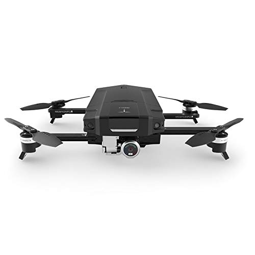 GDU O2 Quadcopter Drone with HD Camera 4K Video Resolution, Vision Positioning System, Smart Shot, 3-Axis Stable Video Capture, HD Video Transmission, Obstacle Avoidance, Sliding Arm Foldable (Black)