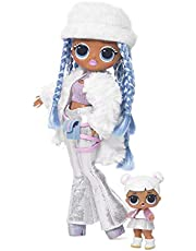 LOL Surprise Winter Disco OMG Snowlicious & Snow Angel Fashion Doll