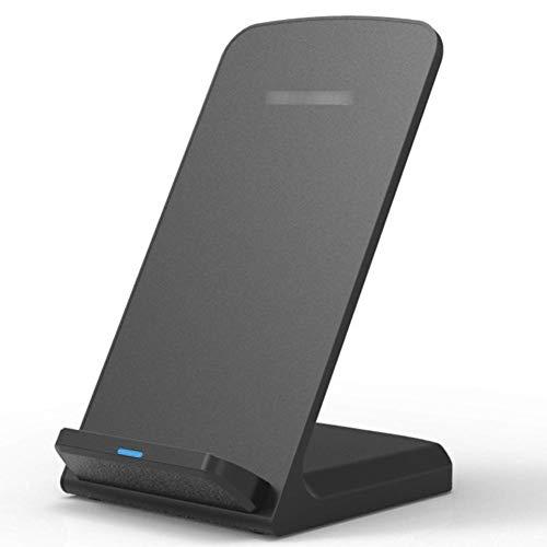 USNASLM Soporte inalámbrico del cargador del teléfono celular QI estándar 10W cargador de inducción rápido del coche del soporte del teléfono móvil