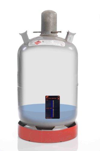 MK Gasstandsanzeiger Füllstandanzeiger Gas Level Indikator für handelsübliche Gasflaschen Propan Butangas Flaschen auch für Gasgrill oder Gaskocher