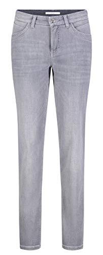 MAC JEANS Damen Melanie New Straight Jeans, Light Random Star Grey, W40/L30
