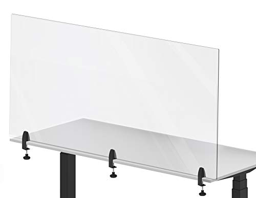 Stand Steady Clear Desktop Panel
