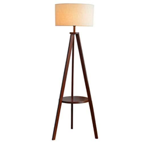 Nórdico madera sólida lámpara de pie moda simple lámpara de pie pie lámpara de pie lámpara europea