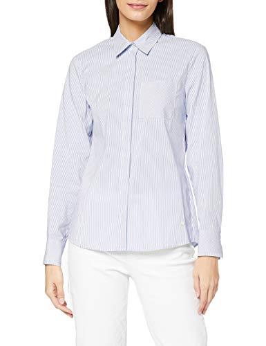 BRAX Damen Style Victoria Bluse, Blue, 36