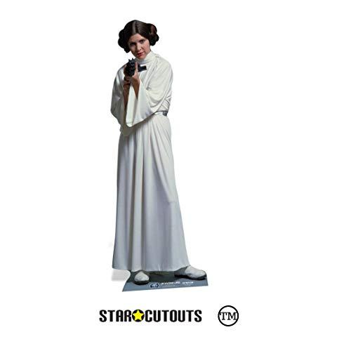HWC Trading Carrie Fisher A4 Incorniciato Firmato Regalo Visualizzazione delle Foto Print Immagine Autografo Stampato per Star Wars Gli Appassionati di Cinema