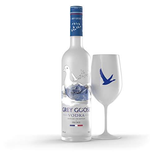 Grey Goose Vodka Original, Gift Pack Esclusivo Amazon, Frustration Free Pack, FFP, 70 Cl