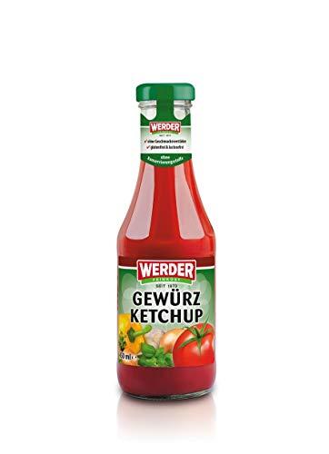 Werder Gewürzketchup, 450 ml