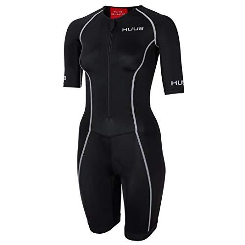 Huub Triathlon Maillot de Bain pour Femme, Noir, XS (Height 139-155 cm)
