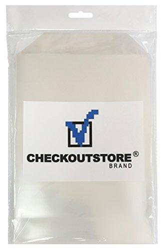 50 CheckOutStore Clear Storage Pockets (6 3/4 x 9 1/2) |