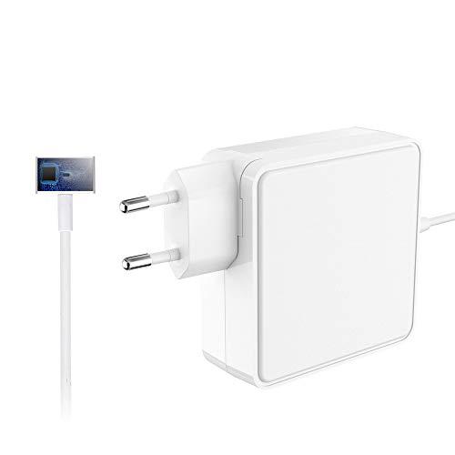 SIMPFUN MacBook Pro Ladegerät 60W MagSafe 2 T Form Netzteil mit Apple MacBook Pro mit 13-Zoll Retina Display (ab Ende 2012)