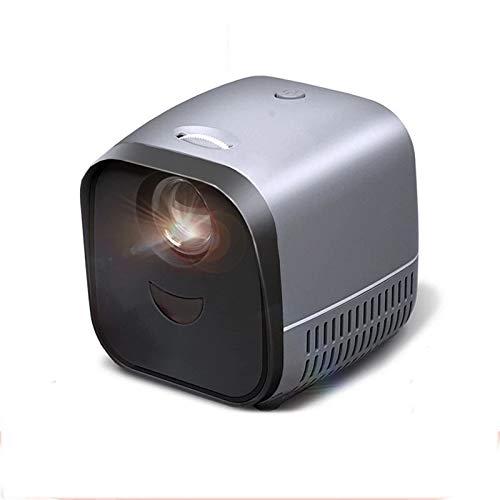 Zhengowen Proyector Mini proyector portátil L1 | Proyector de Video de LED Beamer para el Cine en casa 1080p | Pantalla de Reflejo para teléfonos Inteligentes Proyector para Cine en Casa