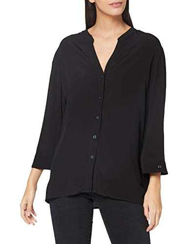 ESPRIT Damen 070EE1F316 Bluse, 001/BLACK, 44