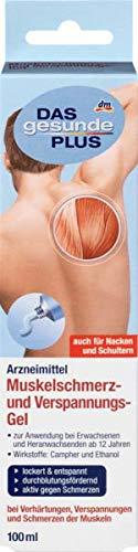 DAS gesunde PLUS Muskelschmerz- und Verspannungs-Gel, 100 ml Arzneimittel