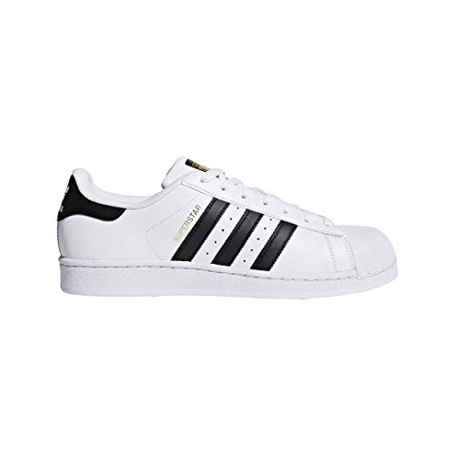 adidas Originals Superstar, Zapatillas Unisex Adulto, Blanco (Ftwr White/Core Black/Ftwr White), 40 2/3