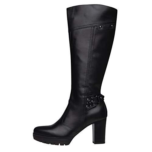 NeroGiardini A909675D Stivali Donna in Pelle - Nero 36 EU