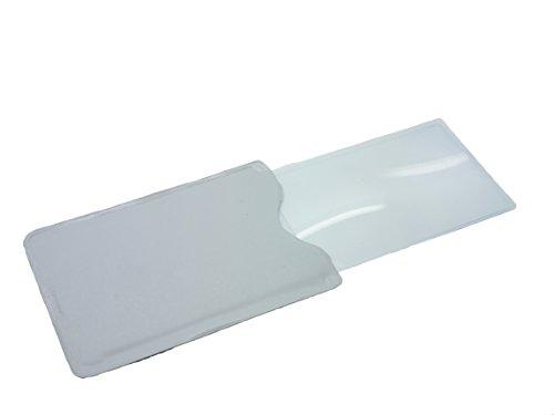 Handige Mini Vergrootglas Pocket Portemonnee Credit Card Vergrootplaat