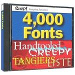 Snap! 4,000 Fonts